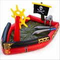 Pileta Pelotero Inflable Barco Pirata Con Espadas Bestway