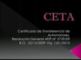 *informe De Dominio Urgente!! En El Dia- Ceta*
