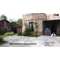 Venta Casa 4 Ambientes Pileta ,en Bo Santa Maria De Tigre