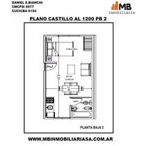 Chacarita Venta Monoambiente En Castillo Al 1200 Pb 2.
