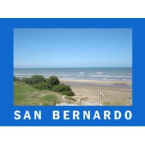 San Bernardo Frente Al Mar -excelente Vista! Impecable Marzo
