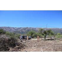 Terreno Espectacular Al Pie De Las Sierras De Los Comechingo