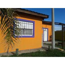 Cabaña De 3 Ambientes, 2 Dormitorios, Parrilla, Aire.