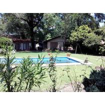 Excelente Casa Quinta, Barrio Privado Para 6 Pax En Pacheco!