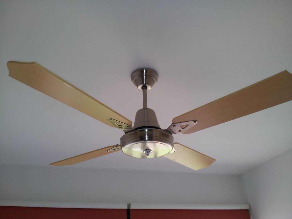 Instalacion colocacion de ventiladores de techo lu ce s for Ventiladores de techo com