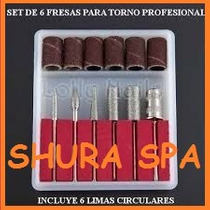 Kit De Fresas Para Torno Manicuria -pedicuria- Esculpidas