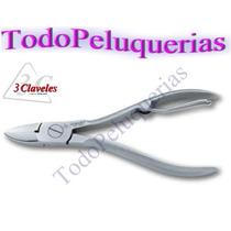 Alicate Para Uñas Profesional 6526 Marca 3 Claveles * España