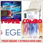 Combo Torno Profesional Egeo Driller + Esterilizador Acero