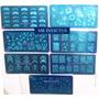 5 Placas Stamping Uña Completa Miden 6x12 Cm En Mr Invictus
