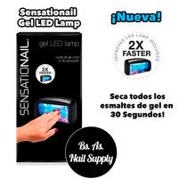 Nueva Sensationail 2x Faster Cabina Led Lampara Uñas Gel 30s