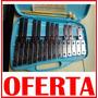 Metalofon Glockenspiel 25 Notas + Estuche + Baquetas Xilofon