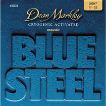 Cuerdas Guitarra Dean Markley Blue Steel 2034 Light 11-52