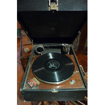Antigua Victrola Original Made In Usa