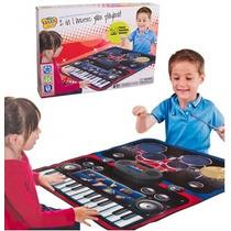 Alfombra 2 En 1 - Piano 24 Teclas Y 8 Instrumentos + Bateria