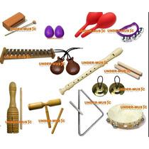 Combo Instrumentos Banda Ritmica Para El Colegio O Aprender!