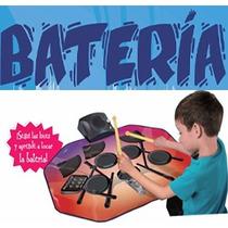 Bateria Musical Electronica+8 Sonidos Diferentes+microfono!!