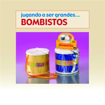 Tambor Bombo Alto 20x19 Cm Plastico C/palillos Y Bandolera