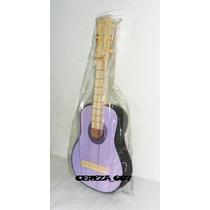 Guitarra De Madera De Juguete Para Nenas Violetta 55cm