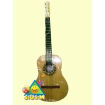 Guitarra Criolla P/ Nenes Muy Linda 80 Cm 6 Cuerdas Jiujim!