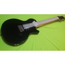 Combo Niño Guitarra Electrica Color Negro Les Paul +mini Amp