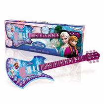 Guitarra Con Sonido Frozen Elsa Anna Tapimovil - Mundomanias