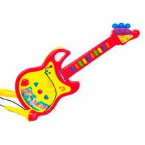 Guitarra Electronica Microfono Luz Canciones Sonidos Envios