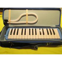 Melodica Para Soplar Tipo Piano Heimond 32 Notas