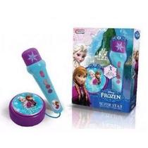 Frozen Microfono Y Amplificador Disney Original Tapimovil