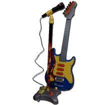 Guitarra Con Microfono De Pie Ploppy 815117