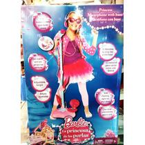 Micrófono Barbie Con Base Luces Y Sonidos- Envio Gratis Caba