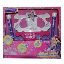 Microfono Con Base Duo Barbie