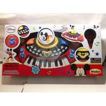 Órgano Musical Piano Microfon Mickey Mouse Envio Gratis Caba