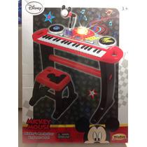 Órgano Piano Musical Con Banco Mickey Envio Sin Cargo Caba