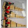 Sikus Zampoña Orig.de Bambu Bolivana De 8-9tubos+dvd+libro++