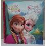 Carpeta Escolar N3 Tres Anillos Frozen Original Envíos