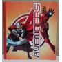 Carpeta Escolar N3 Tres Anillos Avengers Original Envíos