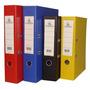 24 Biblioratos Avios Tamaño Oficio - Lomo 7cm Colores Varios