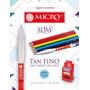 6 Corrector Micro Tipo Liquid Paper 5 Ml Punta Metal