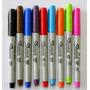 Marcadores Sharpie Punta Ultrafina Permanente X 9u V/colores