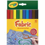 Marcadores Para Tela Fabric Makers Crayola 10 Colores