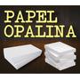 Papel Especial Opalina Blanca A4 180 Grs. X 100 Hojas