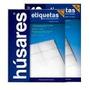 Etiqueta Astronauta / Husares Carta 15 X Hoja X 100 Hojas