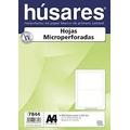 Resma A4 Microperforada Al Medio Husares P/recibo De Sueldo
