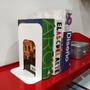 Sujeta Libros De Chapa Pack X4