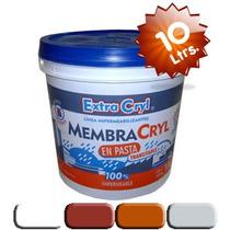 Membrana En Pasta (blanco-cerámico-teja-gris Hielo) X 10 Lts