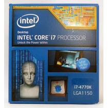 Procesador Intel Core I7 4770k! Quad Core! Nuevo!