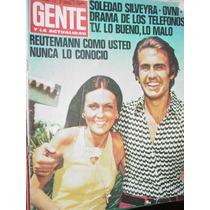 Revista Gente 455 Reutemann Silveyra Telefonos Ovnis Serrat