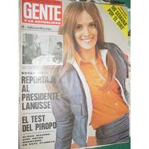 Revista Gente 371 Lanusse Mercedes Sosa Crespi Brando Mafia