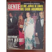 Gente 774 22/5/80 Caso Aramburu Reutemann Casamiento