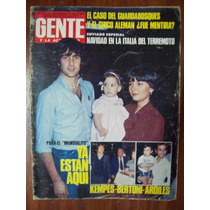 Gente 805 25/12/80 Kempes Bertoni Ardiles Muerte Campora